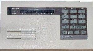 Radionics 4112 alarm panel